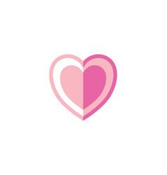 hearth vector image vector image