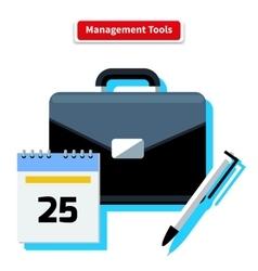 Management tools vector