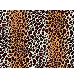 seamless jaguar skin pattern vector image vector image