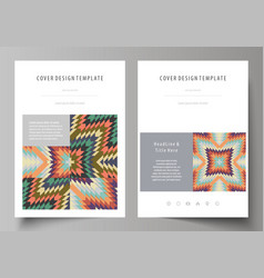 Tribal pattern geometrical ornament ethno syle vector