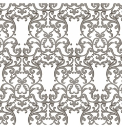 Vintage classic damask pattern vector
