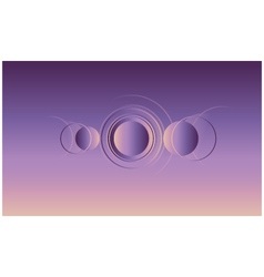 Abstract minimal background vector