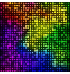 Background from pieces of squares vector