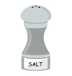 Salt flat icon vector
