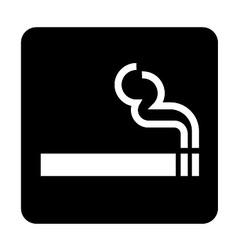 Smoking sign vector