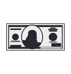 bill money payment financial item buy icon vector image vector image