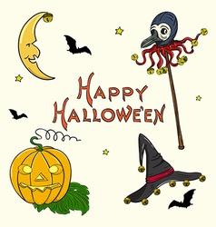 Halloween set2 vector