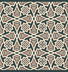 morocco arabic seamless pattern vector image