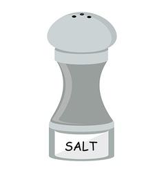Salt flat icon vector image
