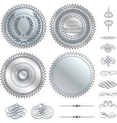 Fancy design elements vector image