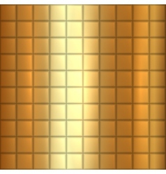 abstract gold texture square background vector image