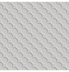 embossed circles vector image