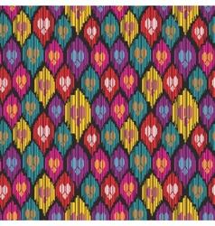 Uzbekistan pattern vector image vector image