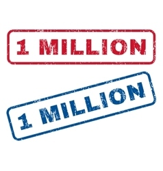 1 million rubber stamps vector