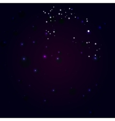 Abstract constellation in a universe vector
