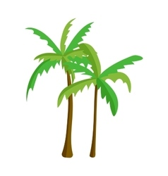Palm isolated vector