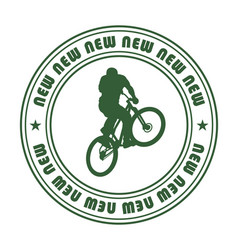emblem for extreme sports 1 vector image