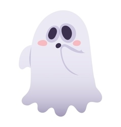 Ghost character isolated vector image vector image