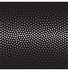Seamless black and white stippling gradient vector