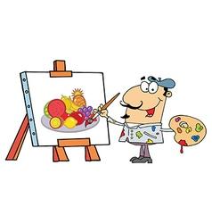 Artist painter vector