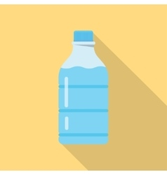 bottle of water vector image vector image