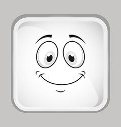 Emoticon face vector