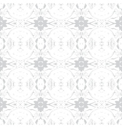 Simple elegant pattern with grey silver shapes vector