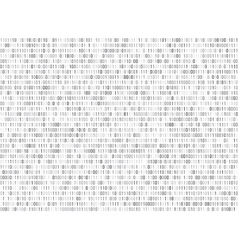 Binary matrix computer data code seamless vector