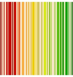 Rainbow colored barcode background vector image