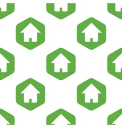 House sign pattern vector