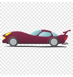 Cartoon sportscar vector image