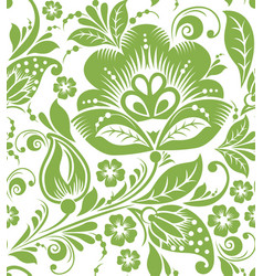 greenery russian seamless pattern background vector image vector image