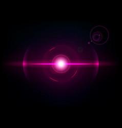 magenta space explosion cosmos burst vector image