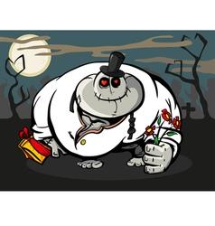 zombie lover vector image