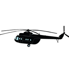 helicopter - vector image