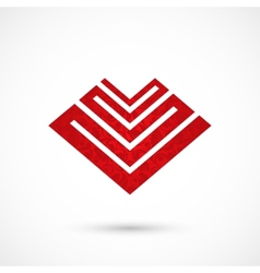 Pattern heart vector