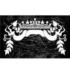 Royal sign vector