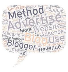 Bloggint for profit text background wordcloud vector