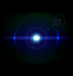 blue space explosion cosmos burst vector image vector image