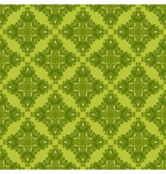 Green seamless background gift wrap vector