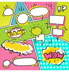 Speech Bubble Banners Set vector image vector image