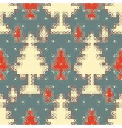 fur trees vector image