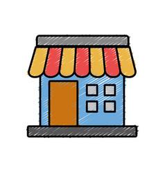 Store icon image vector