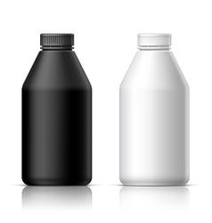 Big plastic bottle vector