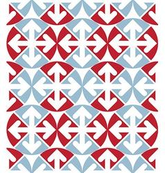 Decorative colorful unusual geometric seamless vector