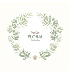 Floral Garland vector image vector image