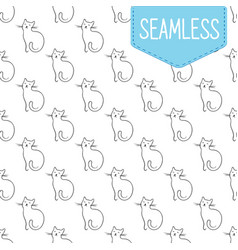 seamless pattern of simple vector image