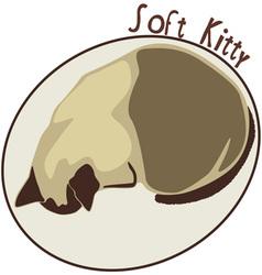 Soft kitty vector