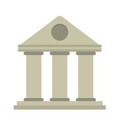 University building style temple vector