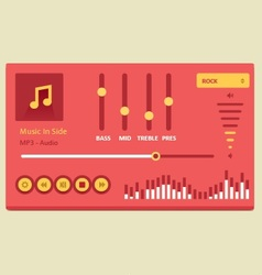Music player 20 vector